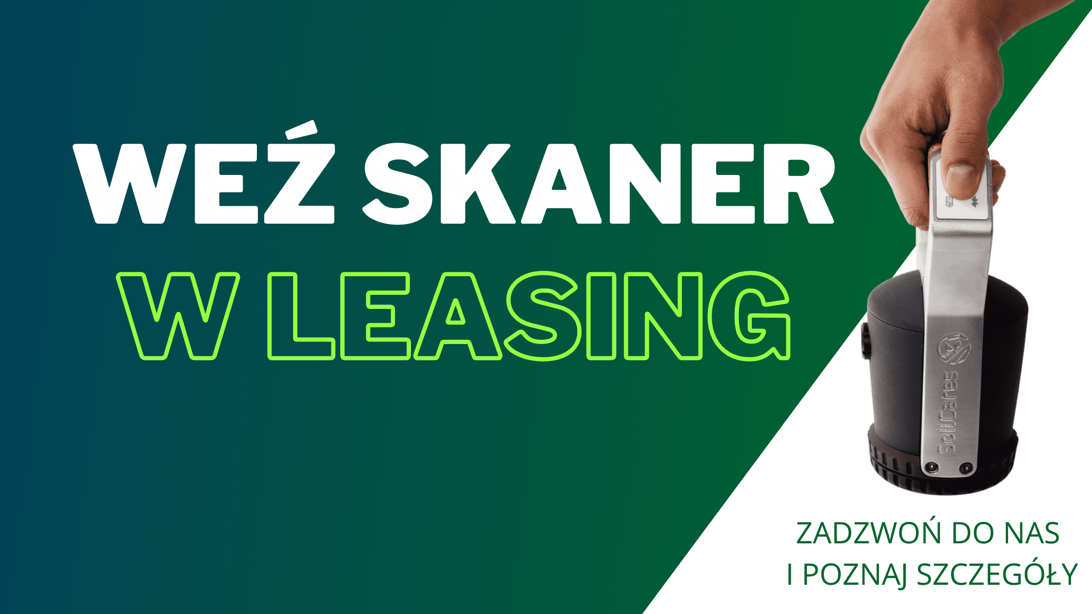 Leasing skanera do gleby